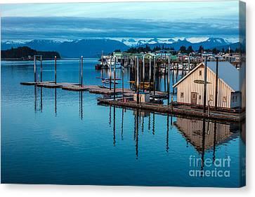 Alaska Seaplanes Canvas Print by Mike Reid