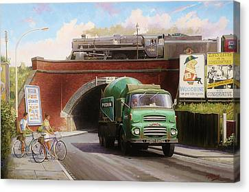 Albion Mixer. Canvas Print by Mike  Jeffries