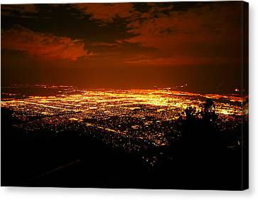 Albuquerque New Mexico  Canvas Print by Jeff Swan