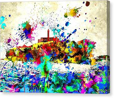 Alcatraz Canvas Print by Daniel Janda