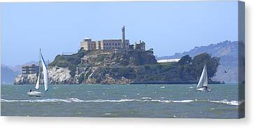 Alcatraz Island Canvas Print by Mike McGlothlen