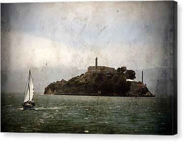 Alcatraz Island Canvas Print by RicardMN Photography