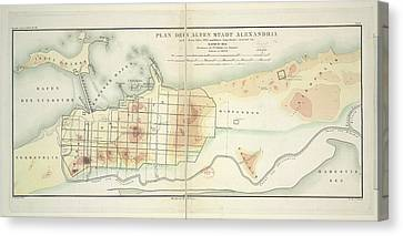 Alexandria Canvas Print by British Library