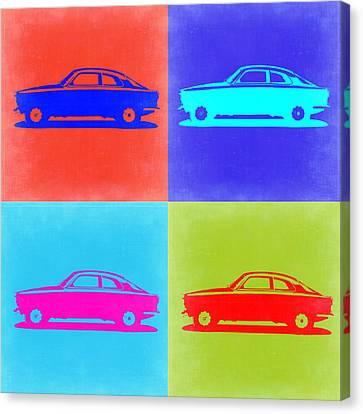 Alfa Romeo Gtv Pop Art 2 Canvas Print by Naxart Studio
