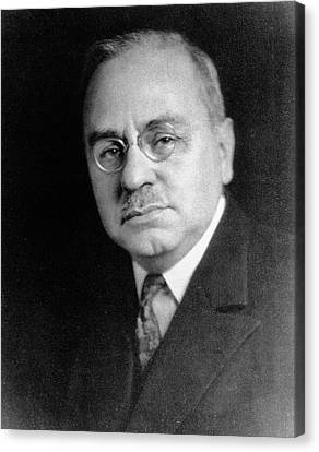 Alfred Adler Canvas Print by National Library Of Medicine