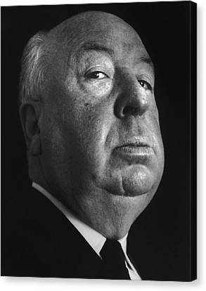 Alfred Hitchcock Canvas Print by Studio Photo