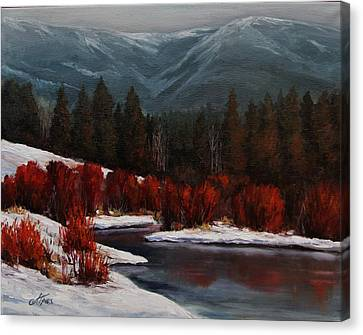 Alice Creek Canvas Print by Suzanne Tynes