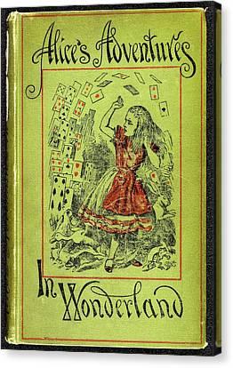 Alice's Adventures In Wonderland Canvas Print by British Library