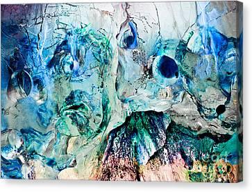 Alien Couple Canvas Print by Petros Yiannakas