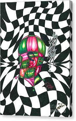 Alien Canvas Print by Joker Gallery