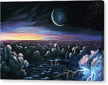 Alien Dawn Canvas Print by Richard Bizley