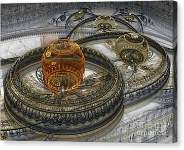 Alien Landscape II Canvas Print by Martin Capek