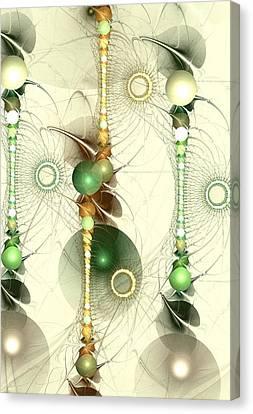 Alignment Canvas Print by Anastasiya Malakhova