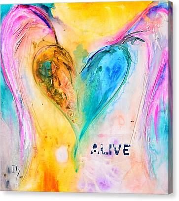 Alive Canvas Print by Ivan Guaderrama