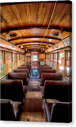 All Aboard Canvas Print by Cat Connor