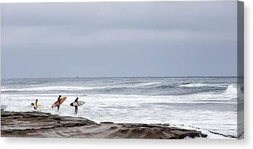 All In Canvas Print by Peter Tellone