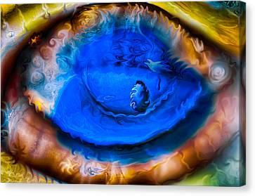 All Seeing Eye Canvas Print by Omaste Witkowski