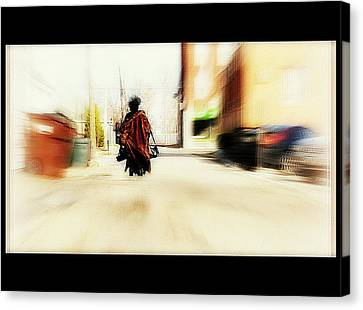 All That She Has Canvas Print by Kathy Barney