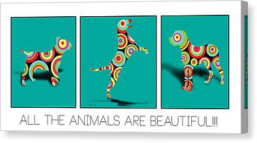 All The Animal Are Beautiful  Canvas Print by Mark Ashkenazi