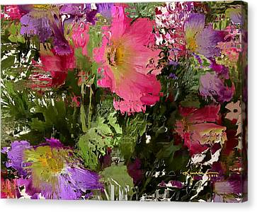 All The Flower Petals In This World 3 Canvas Print by Kume Bryant