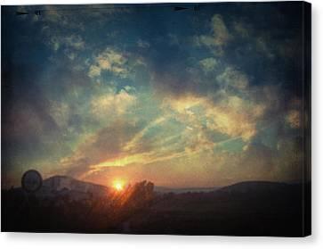 All You Leave Behind Canvas Print by Taylan Apukovska
