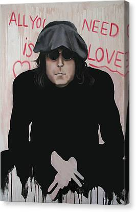 All You Need Is Love Canvas Print by Anthony Falbo