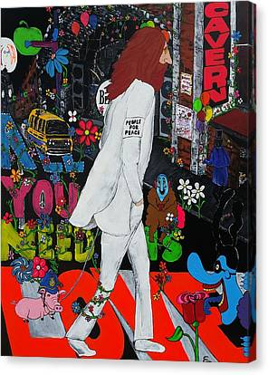 All You Need Is Love  Canvas Print by Edward Pebworth