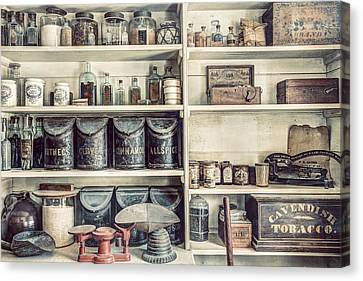 All You Need - The General Store Canvas Print by Gary Heller