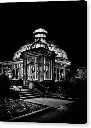 Allan Gardens Conservatory Palm House Toronto Canada Canvas Print by Brian Carson