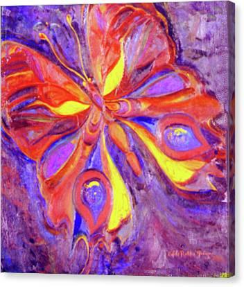 Allegory Canvas Print by Estela Robles