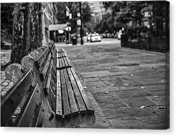 Alls Quiet In The City Canvas Print by Karol Livote