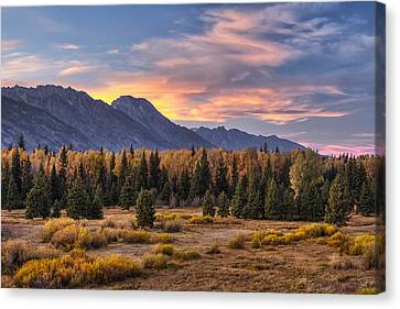 Alluring Conclusion Canvas Print by Mark Kiver