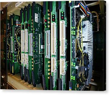 Alma Correlator Supercomputer Canvas Print by European Southern Observatory