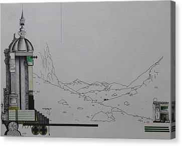 Alone Canvas Print by Jeremy Elkington