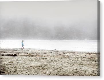 Alone Canvas Print by Lisa Knechtel