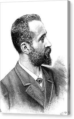 Alphonse Bertillon Canvas Print by Collection Abecasis
