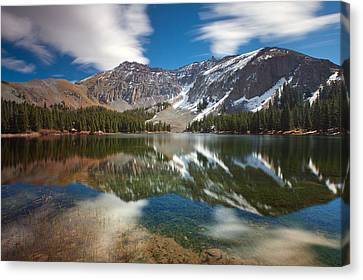 Alta Lakes Canvas Print by Darren  White