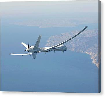 Altair Unmanned Aerial Vehicle Canvas Print by Nasa/carla Thomas