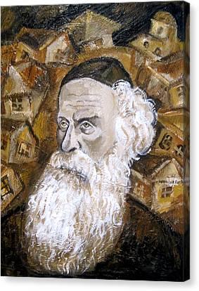 Alter Rebbe Canvas Print by Leon Zernitsky