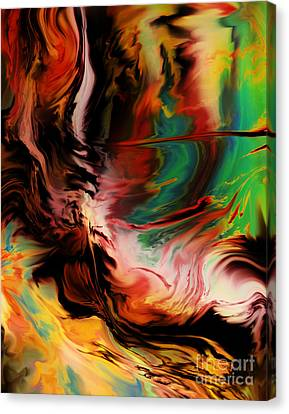 Alternate Reality Glide Canvas Print by Kyle Wood