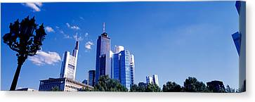 Am Main Bank, Frankfurt, Germany Canvas Print by Panoramic Images