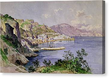 Amalfi Canvas Print by Ludwig Hans Fischer