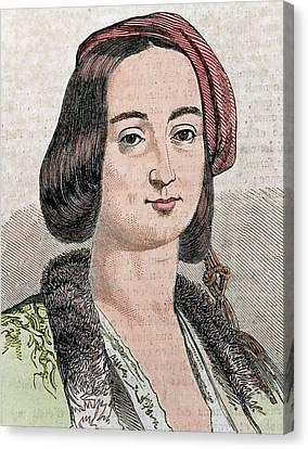 Amalia Of Oldenburg Canvas Print by Prisma Archivo