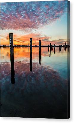 Amazing Bay Canvas Print by Kristopher Schoenleber
