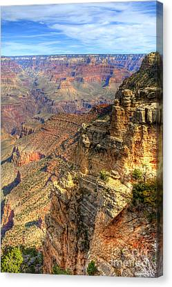 Amazing Colors Of The Grand Canyon  Canvas Print by K D Graves