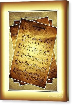 Amazing Grace In Browns Canvas Print by Julie Dant