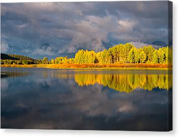 Amazing Morning Canvas Print by Joseph Rossbach