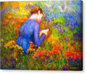 Ambrosia's Love Letter Canvas Print by Michael Durst