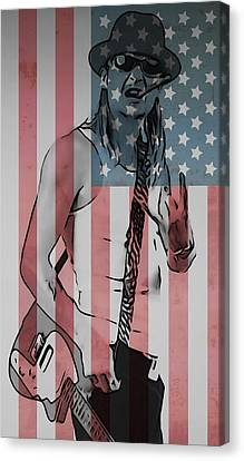 American Badass Canvas Print by Dan Sproul