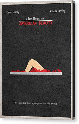 American Beauty Canvas Print by Ayse Deniz